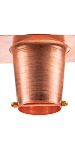 Gutter Reducer for Copper Rain Chains