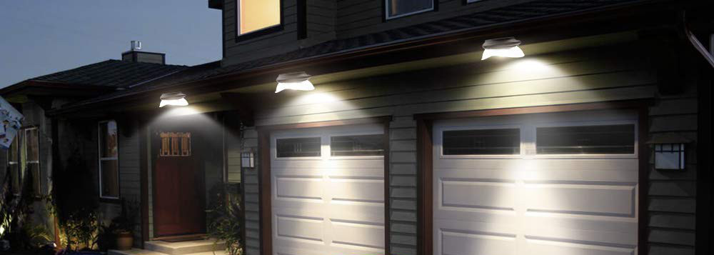 Solar LED Gutter Lights